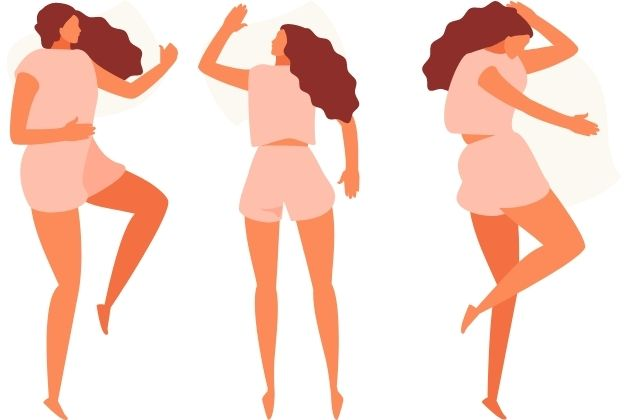 best sleeping positions for weight loss