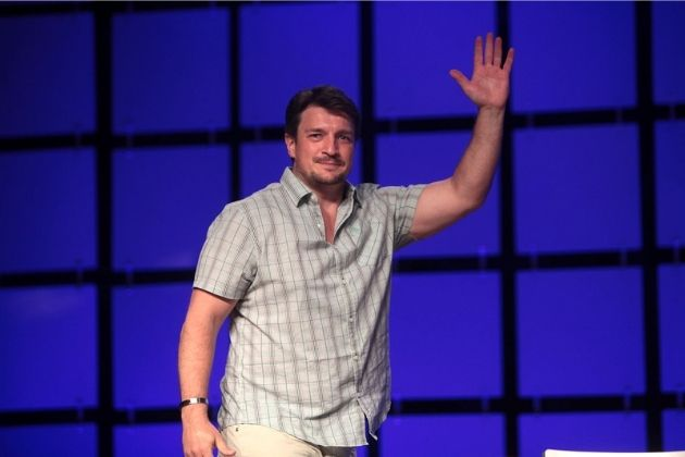 Nathan Fillion earlier before weight loss